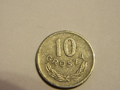 1965 Poland 10 Groszy ----Lot #1,908