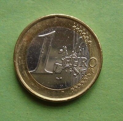 2002 one 1 EURO Ireland  Irish  Eire Coin uncirculated/extremely fine condition
