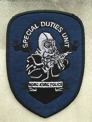 Genuine HKPF / RHKP Special Duties Unit SDU Embroidered Emblem TRF/Patch/Badge