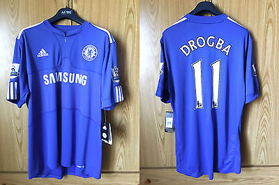 Drogba #11 Chelsea Match Unworn Player Issue Formotion Shirt 2009 - 2010 Size XL