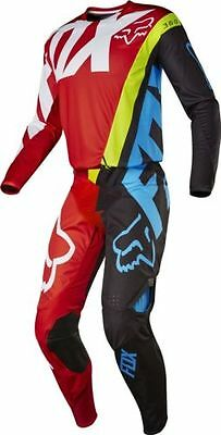Motocross Enduro Completo Fox 360 Creo Red -Yellow