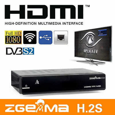 Zgemma h 2s H2S Dual Core Twin Tuner Satellite Receiver With Full 7day EPG IPTV