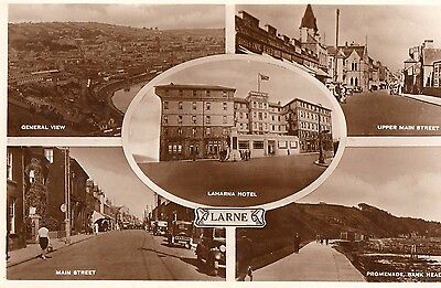 LARNE CO. ANTRIM IRELAND RP IRISH POSTCARD by M & L NATIONAL SERIES