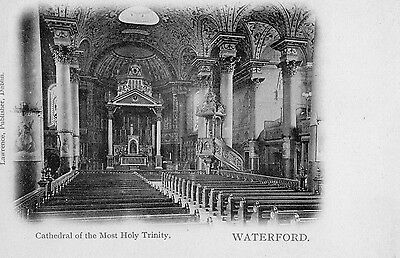 CATHEDRAL OF MOST HOLY TRINITY WATERFORD IRELAND IRISH POSTCARD by LAWRENCE