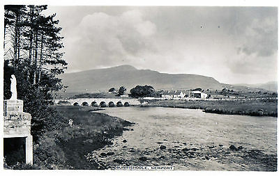 BURRISHOOLE NEWPORT MAYO IRELAND RP IRISH POSTCARD by CARDALL LTD