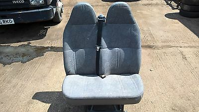 Ford Transit Mk6 Cloth Passenger Double Front Crew Seat