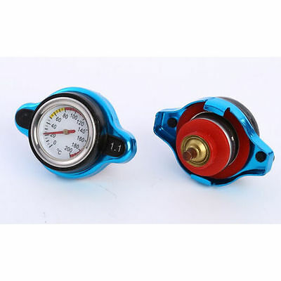 D1 Spec Thermostatic Gauge Radiator Cap 1.1 Nissan Mitsubishi Mazda MX5 Subaru