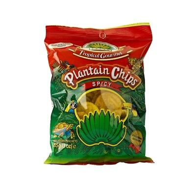 Bananenchips spicy, Hojuelas de Platano spicy 85g Tropical Gourmet Ecuador