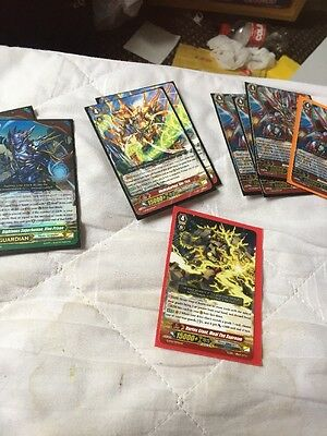 Nova Grappler Deck Cardfight Vanguard+Extras