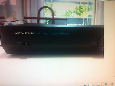 Amplificatore Musical Fidelity A120 Classe A