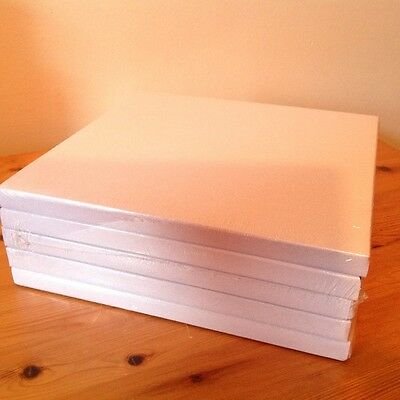5x 8 in Square Cake  Drums White Boards cake decorating