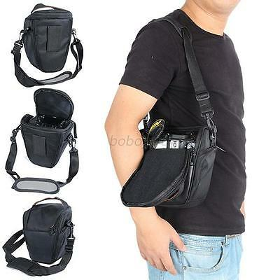 Waterproof Black Camera Bag Shoulder Bag Backpack for Canon Nikon, Sony SLR DSLR