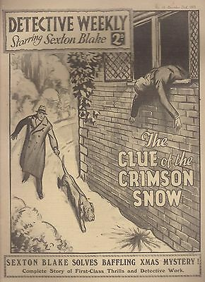 Detective Weekly No.44 December 23rd 1933