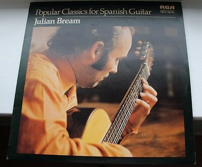 "Julian Bream - Popular Classics for Spanish Guitar - 12"" Vinyl LP"