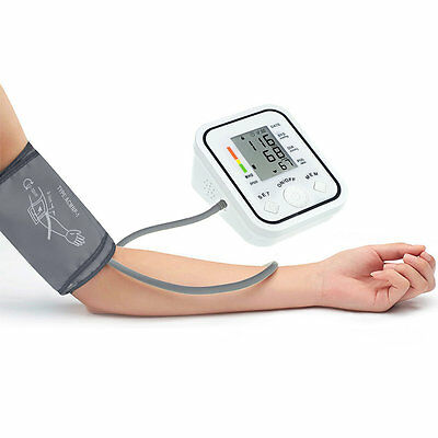BP826 Digital bp Blood Pressure Monitor Meter Sphygmomanometer Cuff NonVoice UK