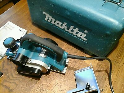 Quality Makita Kp0810 110V Power Planer With Case + Accessories.timber Shed Work
