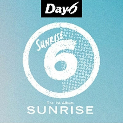 DAY6 - SUNRISE (1st Album), CD+Phtobook+Photocard+Clear Cover+Lyrics+Poster