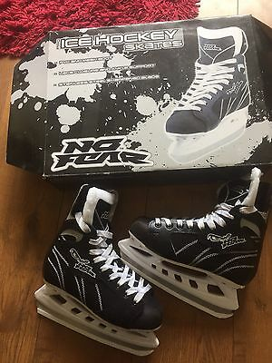 No Fear Pro Ice Hockey Skates UK Size 6 RRP £59.99