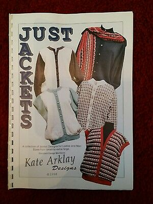 machine knit patts book by Kate Arklay please see description and photos