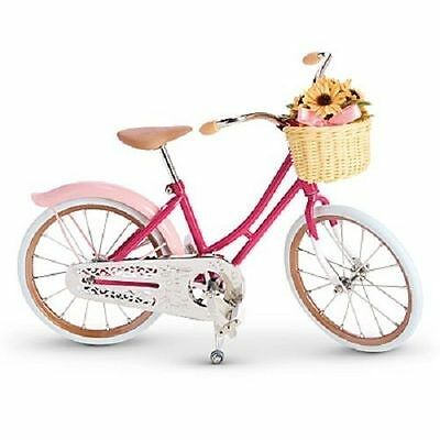 """American Girl SAMANTHA""""S Pink BICYCLE for Samantha Doll Beforever NEW"""