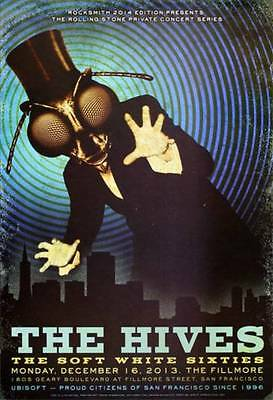 The Hives Fillmore Poster Gig Concert Poster