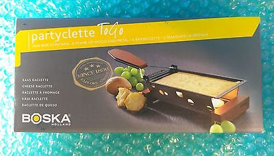 BOSKA Holland PARTYCLETTE To Go 852042 Cheese, Chocolate Fondue