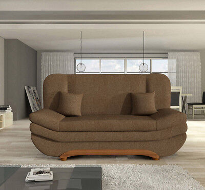 Schlafsofa Sofa Couch Bettsofa Viking Lux II Sale Schlaffunktion Bettkasten