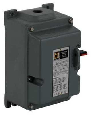 Manual Motor Starter, Square D, 2510MBR2