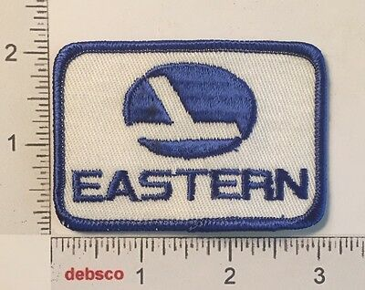 Vintage EASTERN AIRLINES 1970s Travel Souvenir Embroidered PATCH