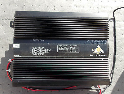 Analytic Systems VTC315 DC/DC Voltage Converter VTC-48-24
