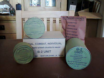 Repro Vietnam War C Ration B-2 Unit Meal Edible But Sold For Display