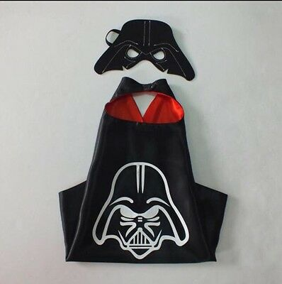 Brand New STAR WARS DARTH VADER Cape And Mask Age 2-7