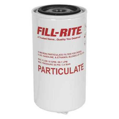 Fuel Filter,4-1/2 in. L,3/4 in. Size FILL-RITE F1810PM1