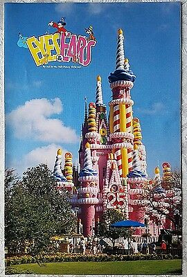 1996 Wdw Eyes & Ears Cast Newsletter 25Th Anniversary Cinderella Castle Cover