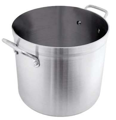 CRESTWARE POT60 Stock Pot, 60 qt, Aluminum