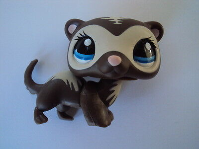 maxibox-2015 - Furet Fouine Ferret # 1054 LITTLEST PET SHOP (Petshop) Figurine