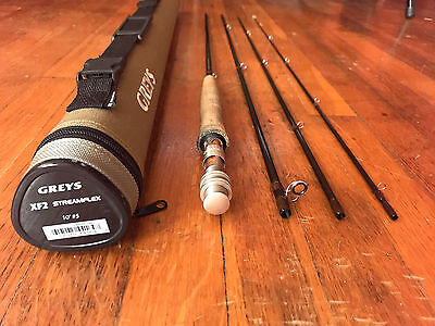 Greys XF2 Streamflex 10 foot 5 Weight 4-piece Fly Rod with Case