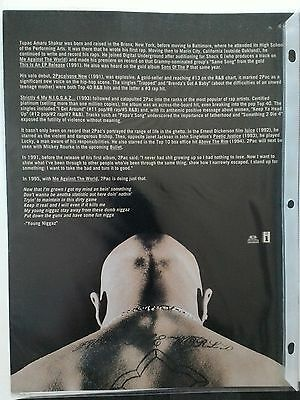 "2pac PRESS KIT ""ME AGAINST THE WORLD"""