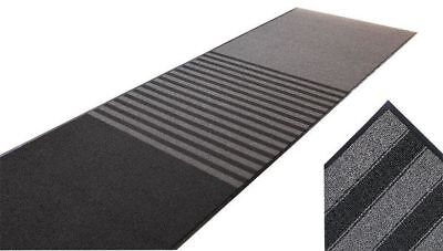 Carpeted Entrance Mat,Black,6ft. x 10ft. NOTRAX 137S0610BL