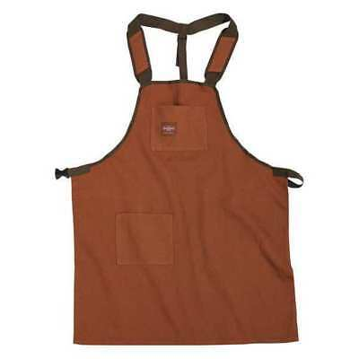 "BUCKET BOSS 80300 Apron,Brown,3 Pockets,26-1/2"" W,Canvas G5893986"