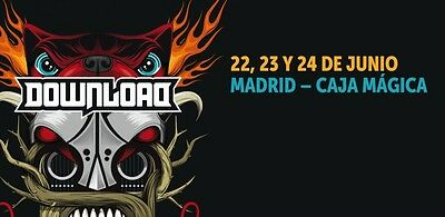Pinza de tender y regalo ABONO para DOWNLOAD FESTIVAL MADRID