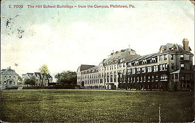 The Hill School Buildings from the Campus ~ Pottstown Pennsylvania PA 1909
