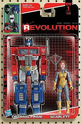 """Revolution #1 Adam Riches """"action Figure"""" Subscription Cover D Nm 1St Printing"""