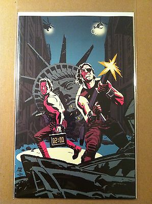 Big Trouble In Little China / Escape From New York #1 East Variant Nm 1St Print