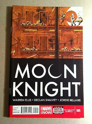 Moon Knight #5 (2014) Warren Ellis Declan Shalvey Near Mint First Printing Now!