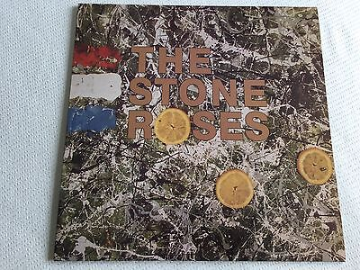 The Stone Roses - Self-Titled - Rare Grey Marble Vinyl Lp, Indie-Rock
