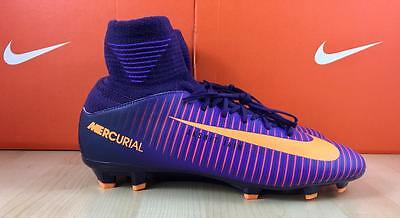 Brand New: Nike Id Kids Mercurial Superfly V Fg 5Y(831943-585) Kids Soccer Cleat