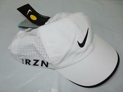 Nike Mens Adjustable Tour Perforated Cap White/Black One Size NWT