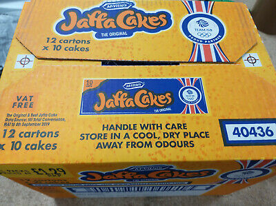 Mcvities Jaffa Cakes Full Case X12 Tubes Tracked Delivery