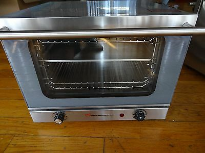 Wisco Wisco-620 Commercial Convection Counter Top Oven Stainless Steel - Clean